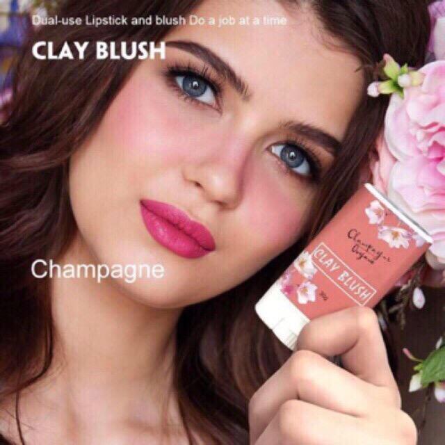Amog Luna Organic Clay Blush Luna Autumn Clay Blush Multi Purpose Cosmetic Bar Lip Color Lip Stick Blush On Make Up 30g By Amog.ph