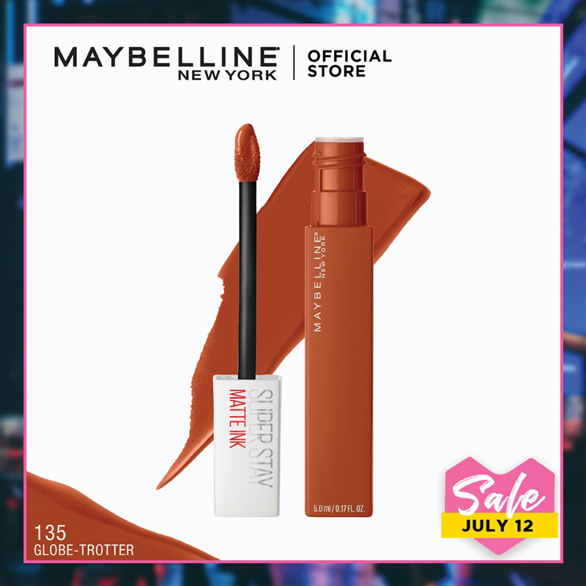 52b0e41f03 Maybelline SuperStay Matte Ink City Edition Liquid Lipstick [16HR  Waterproof]