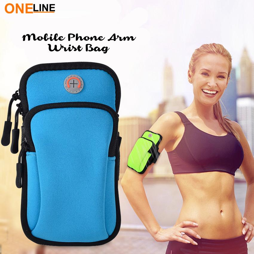 4f3f20a6d564 Oneline RB-01 Running Bag Sport Arm Bag For Phone Arm Band Adjustable  Waterproof Nylon