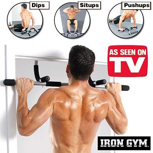 Iron Gym Lifting Pull up Push Bar Durable Non-slip Indoor Horizontal Bar  High Iron Bar Chin-ups/Press-ups