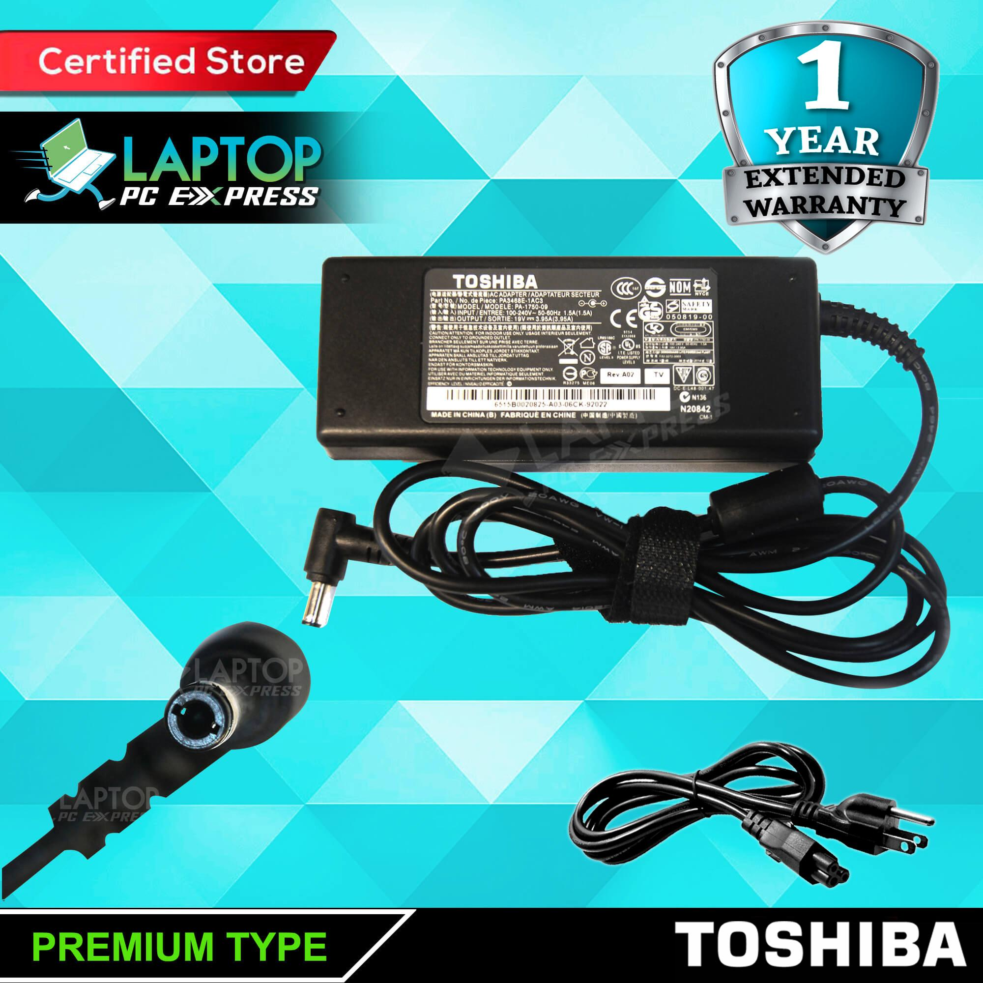 38f7db0f6ce7 Toshiba Laptop Charger 19V 3.95A 5.5mm x 2.5mm PA3714U-1ACA Satellite A200  A300 A350 A660 C670 L100 L300 L350 L450 L500 L505 L550 L555 L630 L650 L670  ...