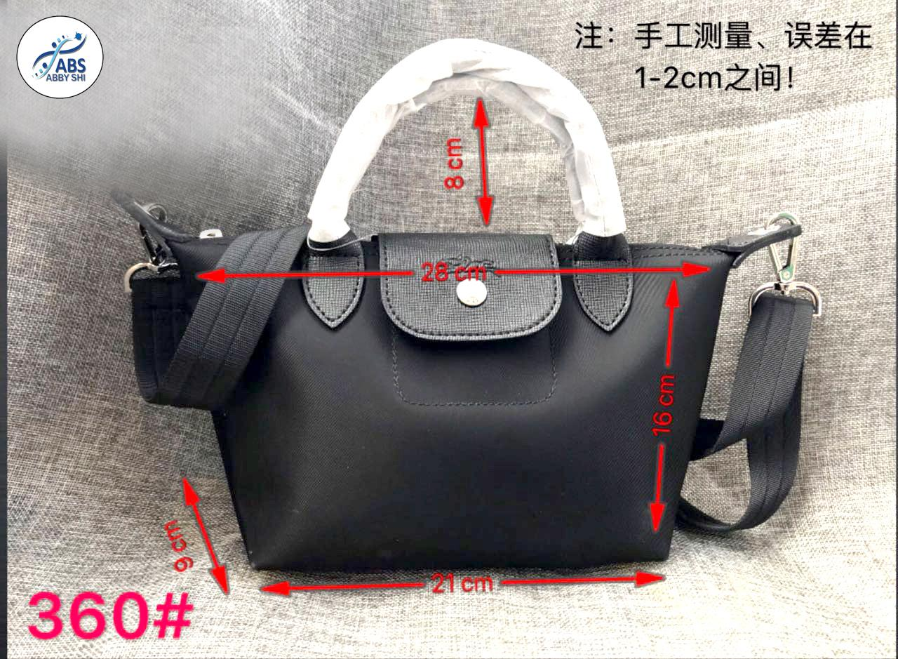 e091933e468e ABS ABSL  360 LC Ladies Casual Small Composite Bags Leather Handbag Nylon  Handba (small)