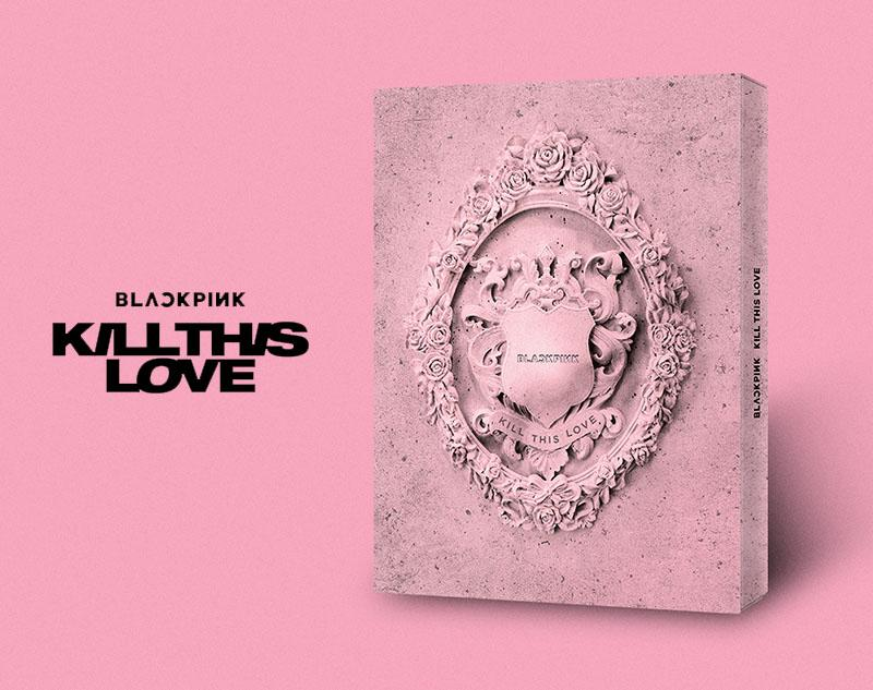 BlackPink Kill This Love PINK Mini Album Vol  2 Official On-hand Kpop
