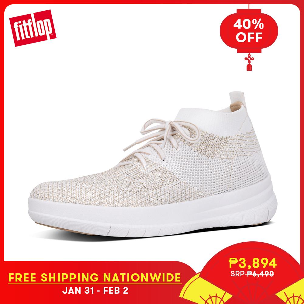 912ddd74cfe04d Fitflop Women s Shoes J30 UBERKNIT SLIP-ON HIGH TOP SNEAKER TEXTILE  ATHLEISURE lightweight comfort fashion