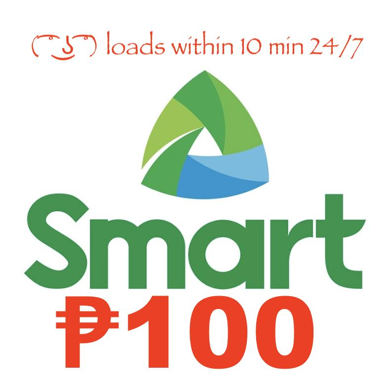 Smart / Tnt Regular Mobile Load 100 Pesos By Acts29.