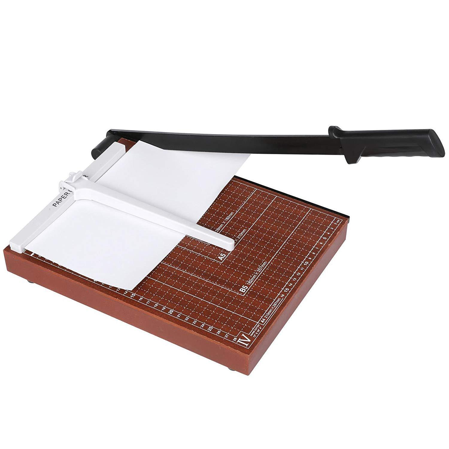Wood Base Paper Cutter A4 Size PC-828-4