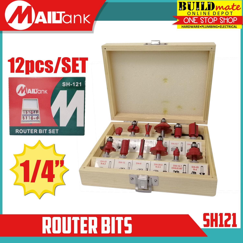 MAILTANK Router Bits 1/4