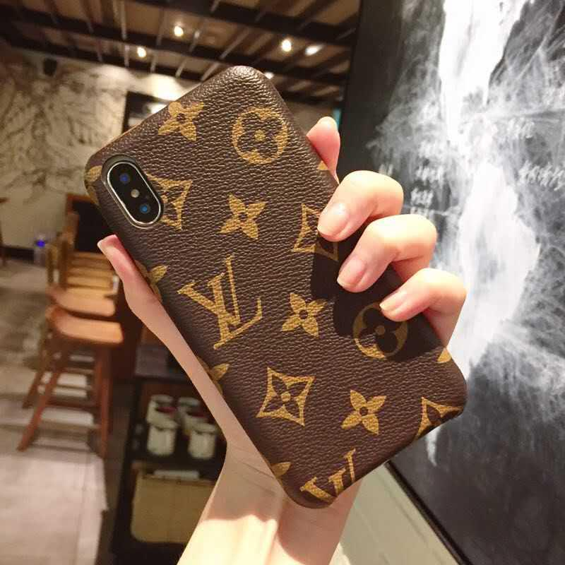 New Design Apple iPhone X/Xs Luxury Case, iPhone LV Cases,Luxury Brand