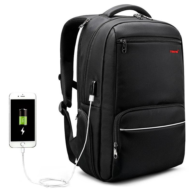 10fd75be4675 Tigernu Men Backpack Nylon Waterproof Anti Theft Male Mochila Travel Laptop  Backpack 15.6 inch 25L Large