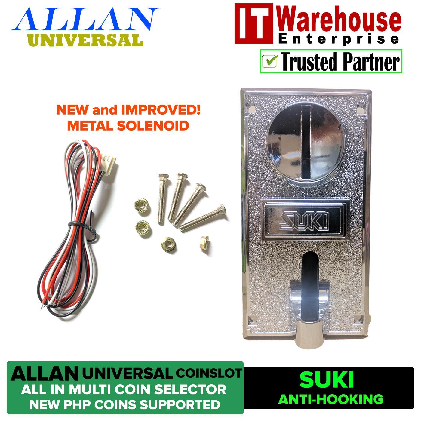 Allan Universal Latest 1238a / Suki Coin Selector Coinslot Acceptor Multi Coin Selector For Piso Pisowifi Pisonet Coin Slot By It Warehouse Enterprise.