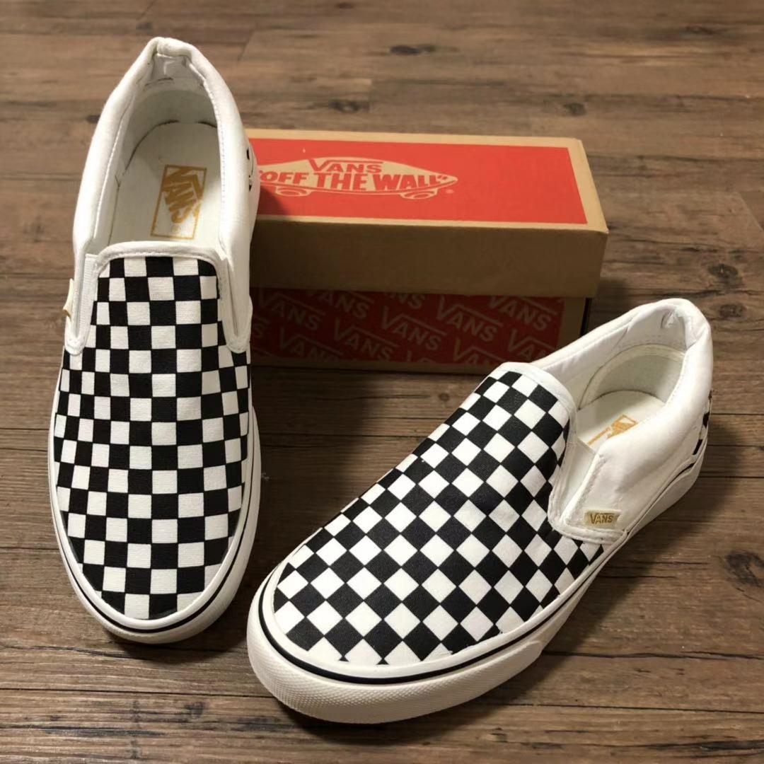 Vans classic slip-on checkered of man