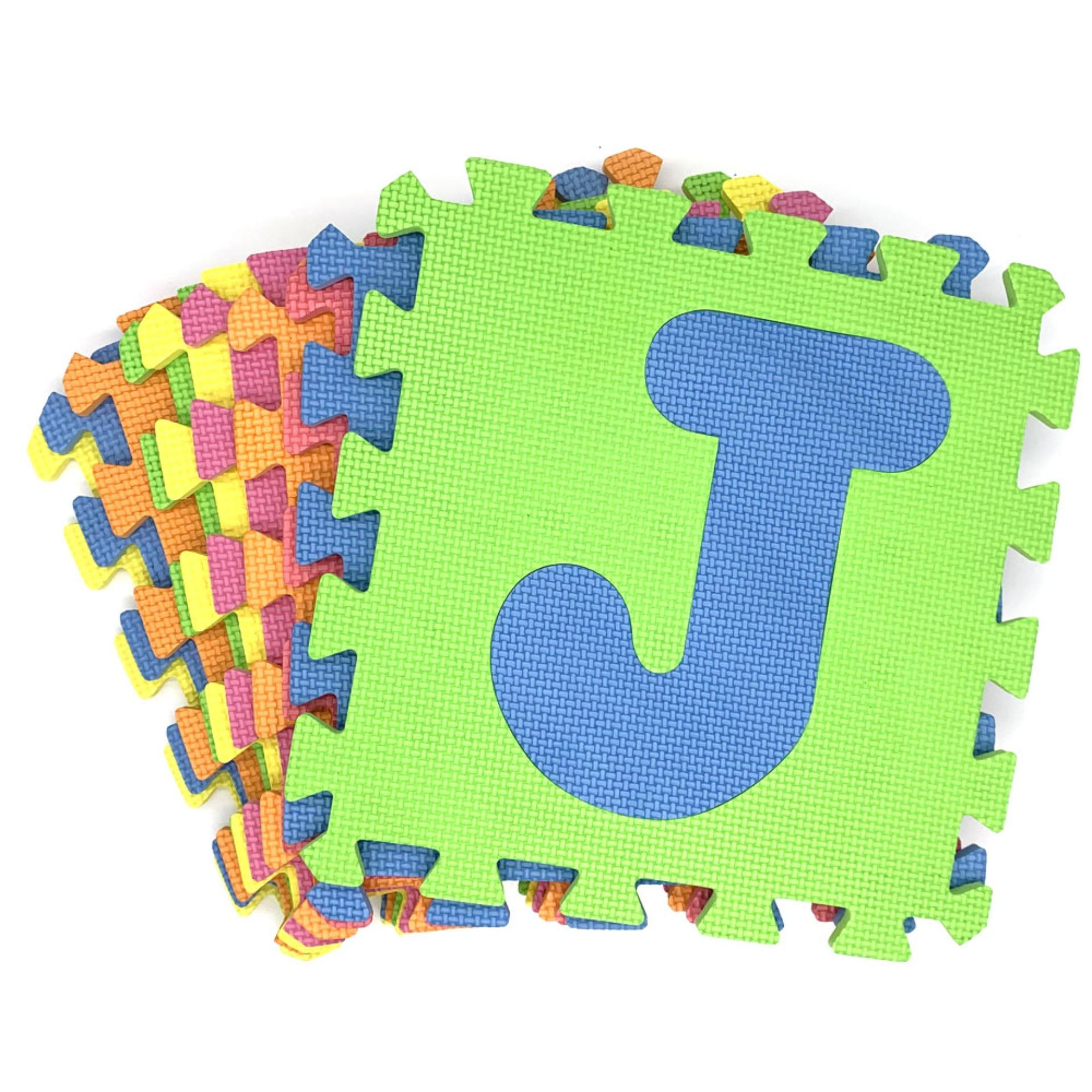 Puzzle Mat / Playmat Letters 10 Pieces By Fortuneplus Corp..