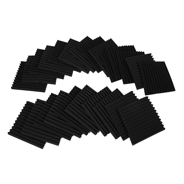 24 Pack Acoustic Panels Studio Foam Wedges 1 inch X 12 inch X 12 inch Malaysia