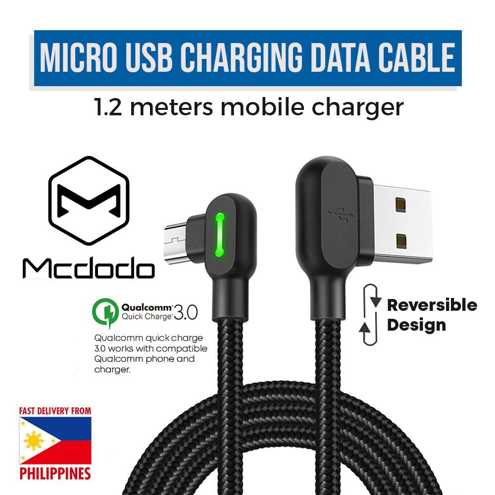 e2b789abee3 Mcdodo CA-5771 Micro usb Samsung Huawei Xiaomi Android Fast charging data  transfer cable 1.2
