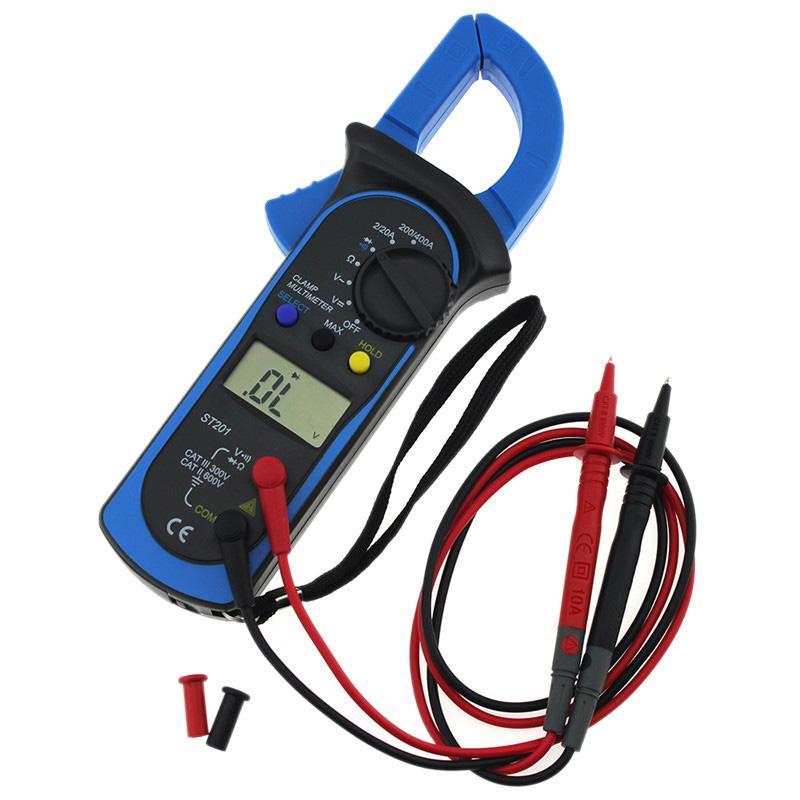 Aneng Clamp Meter Amper Ac / Dc Voltage Current Clamp Multimeter Pinza Amperimetrica Digital Multimeter Electronic Tester Meter