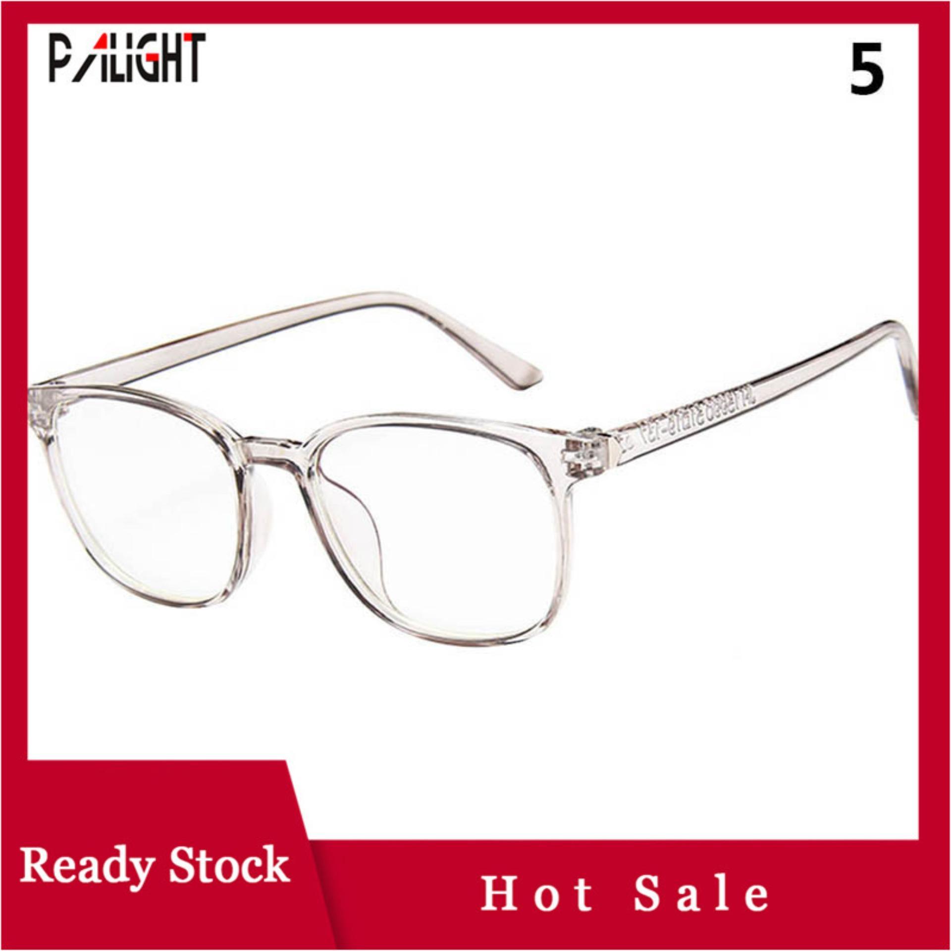 544dc0bb03 PAlight 1 Pcs Women Vintage Glasses Clear Lens Eyewears Radiation Protection  Dustproof For Unisex