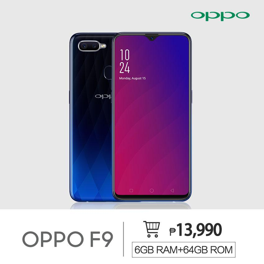 a67aecbe45b OPPO F9 Smartphone 6GB 64GB 3500mah Battery w  VOOC Flash Charge 25MP AI  Front