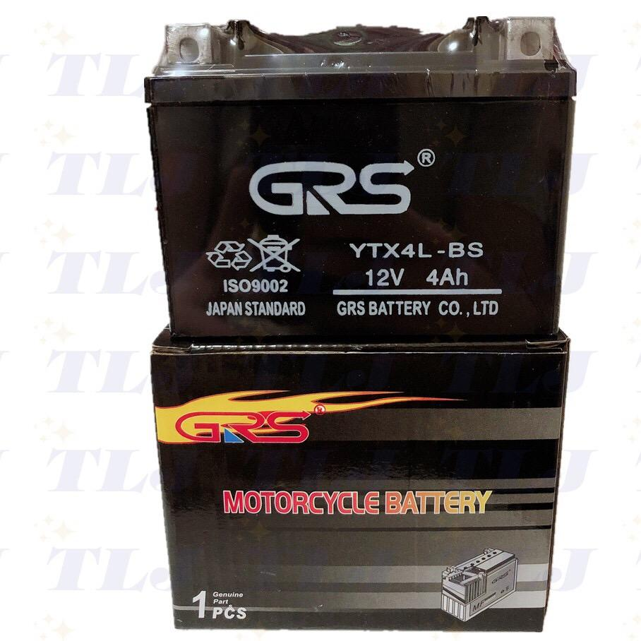 TLJ Motorcycle Battery YTX4L GRS(dayway style)