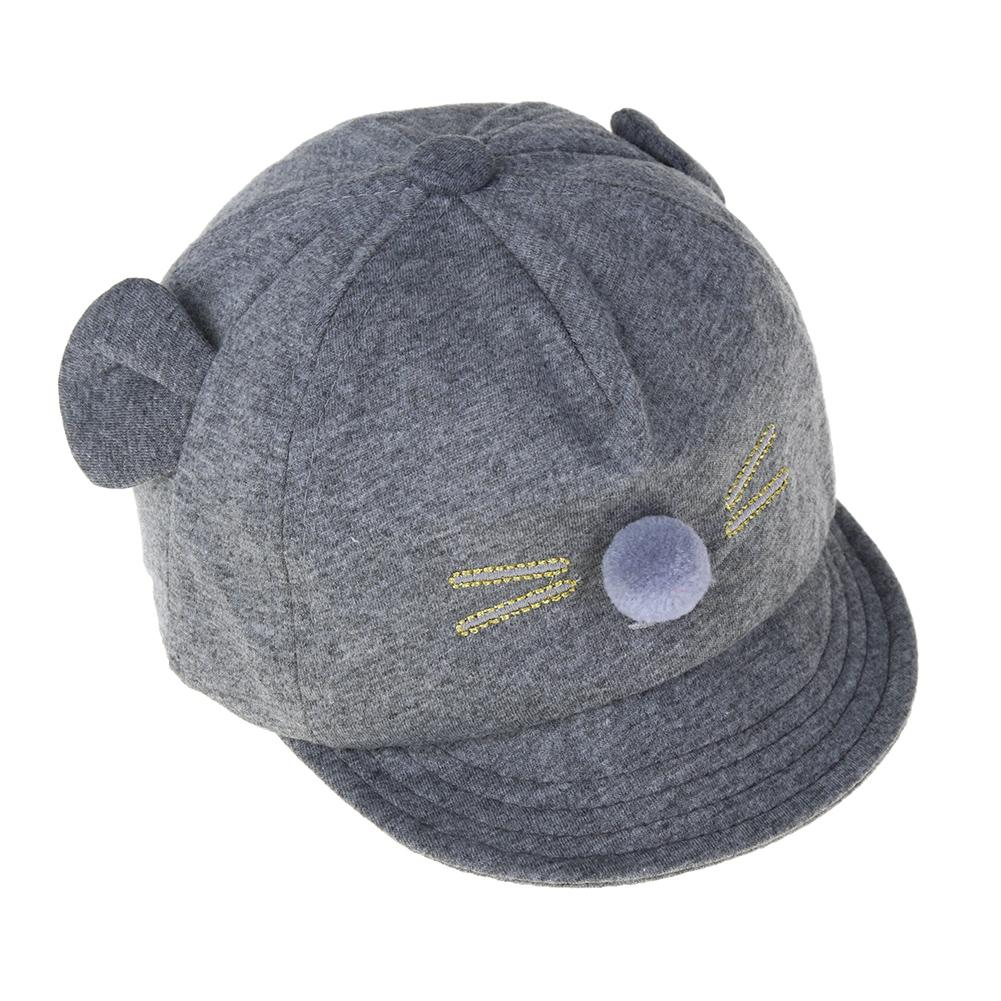 03a9e8962c0a4 New Baby Hat Cartoon Cat Design Kids Baseball Cap Boys Girls Sun Hat - intl