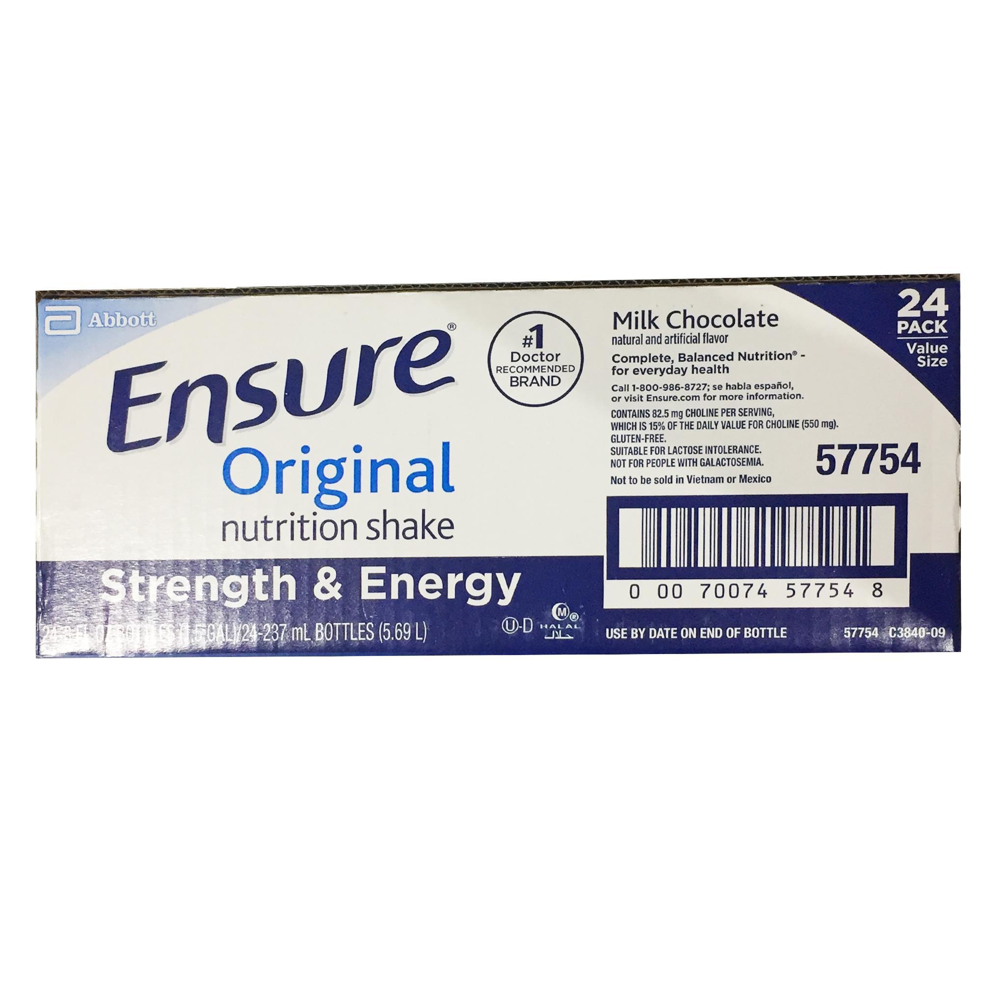Ensure Philippines: Ensure price list - Powdered Chocolate & Vanilla