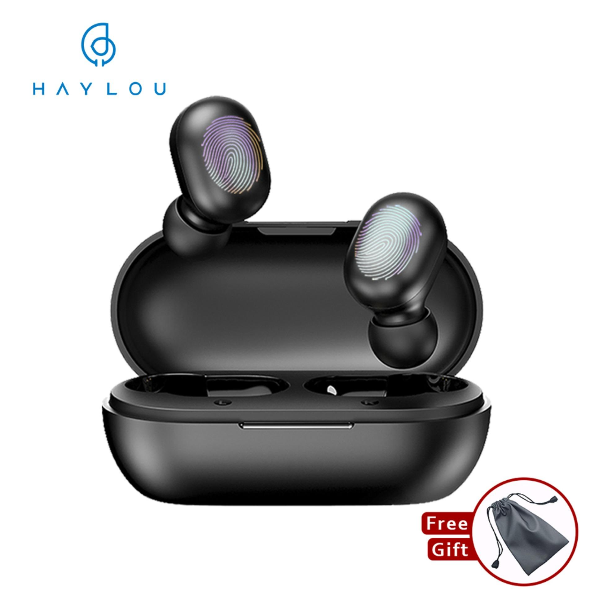 Xiaomi Haylou GT1 TWS Touch Control Wireless Bluetooth 5.0 Earphones Sport Music Earbuds Stereo Headphone Noise Cancelling Gaming Headset with Microphone Binaural Call