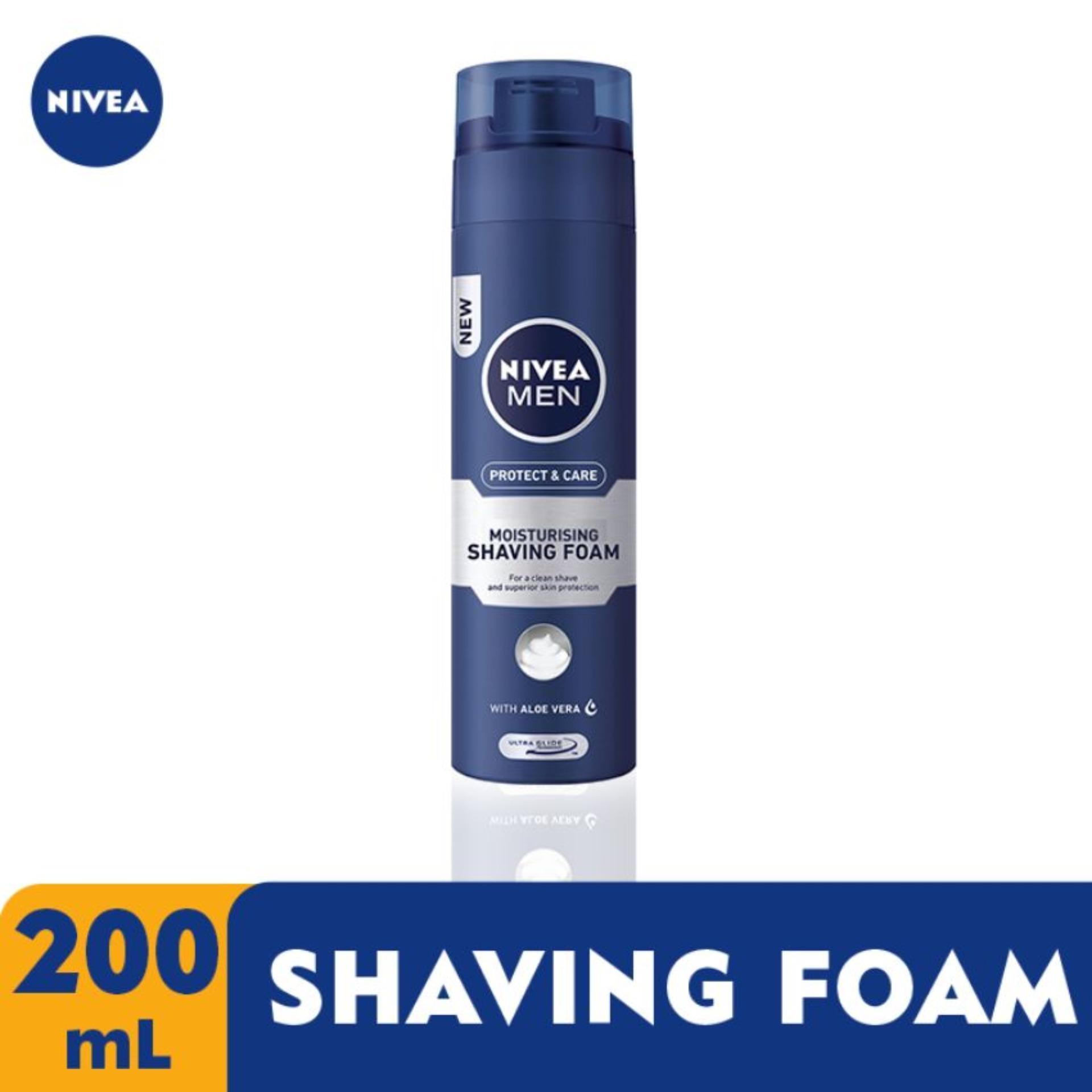 Nivea Men Moisturising Shaving Foam 200ml