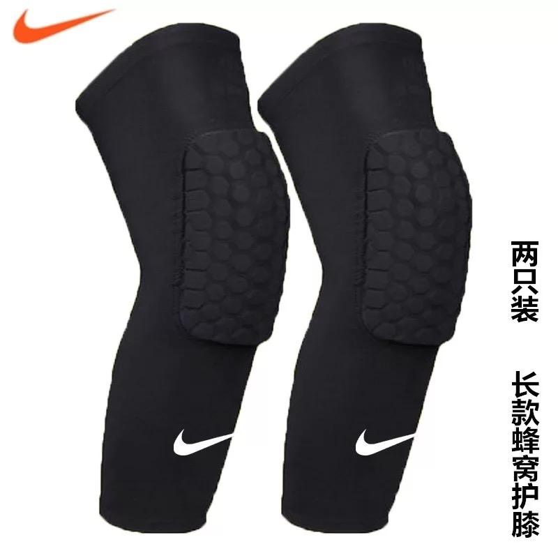 Product details of 2pcs(One Pair) Nikes Kneepads Black Knee Shin Sleeves Sports Basketball Kneepads compression Honeycomb Knee Pads Leg kneepad compression ...