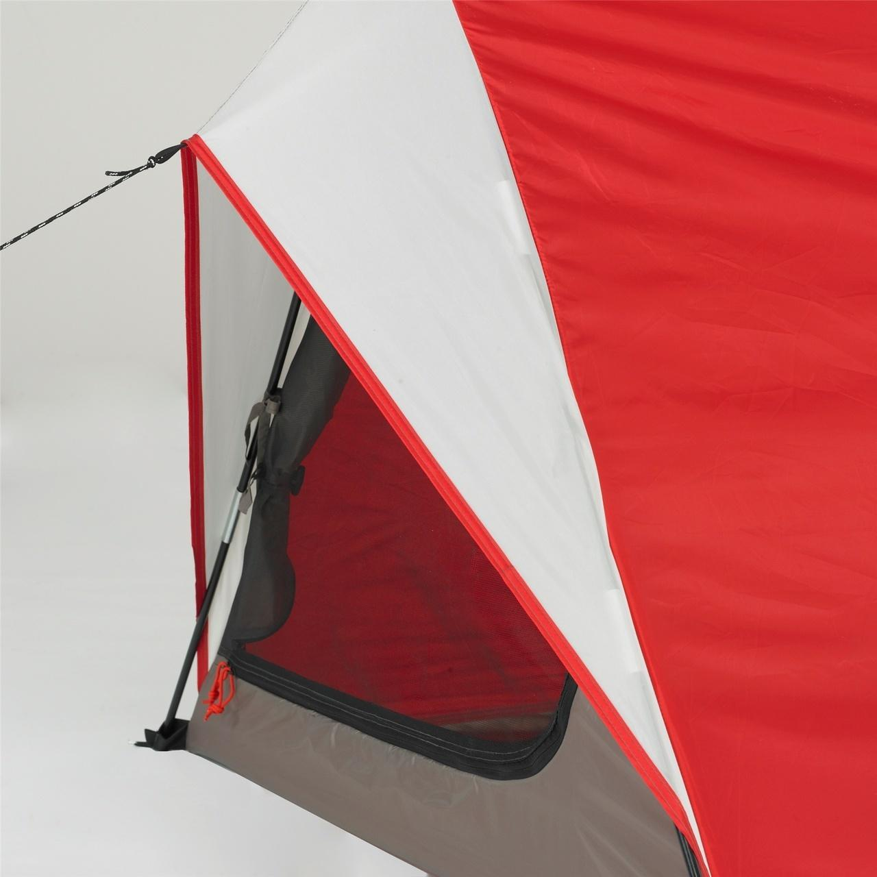 American Rec Wenzel Starlite 1 Person Tent (Red) - 36 inches height - dependable emergency fiberglass tent. Floor material welded polyester. & American Rec Wenzel Starlite 1 Person Tent (Red) - 36 inches height ...