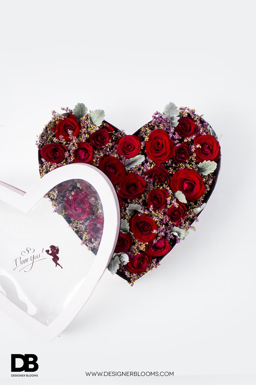 DB Rose Heart Box
