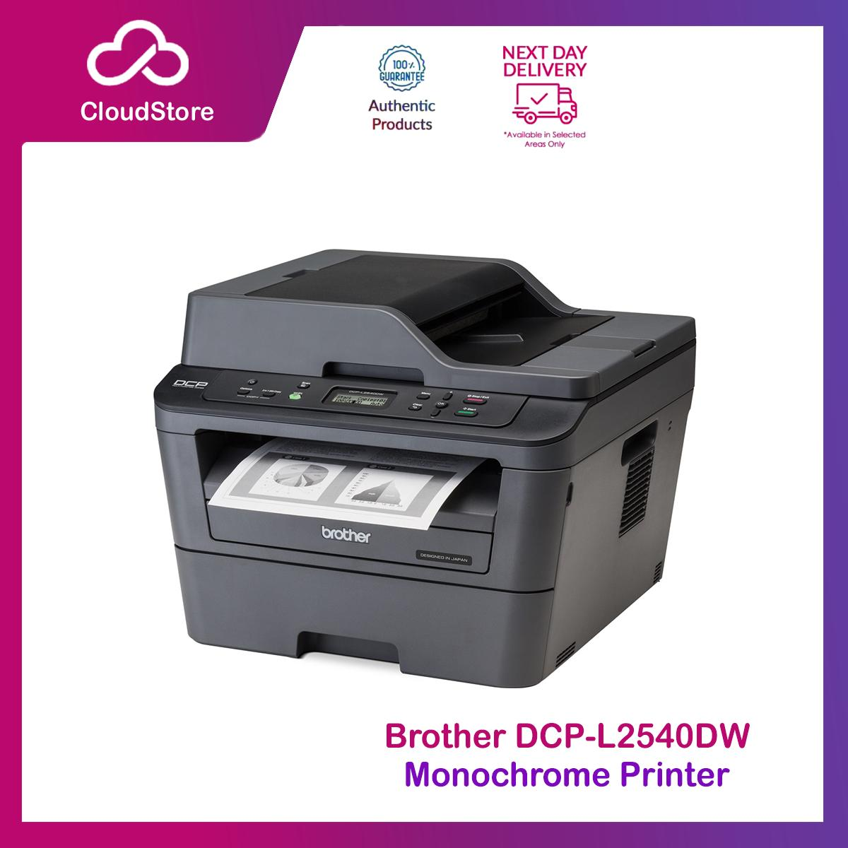 image about Laserjet Printable Vinyl identify Brother DCP L2540DW 3 within 1 Monochrome Laser Printer with 2 sided Printing and Wi-fi Networking - DCP-L2540DW Printer