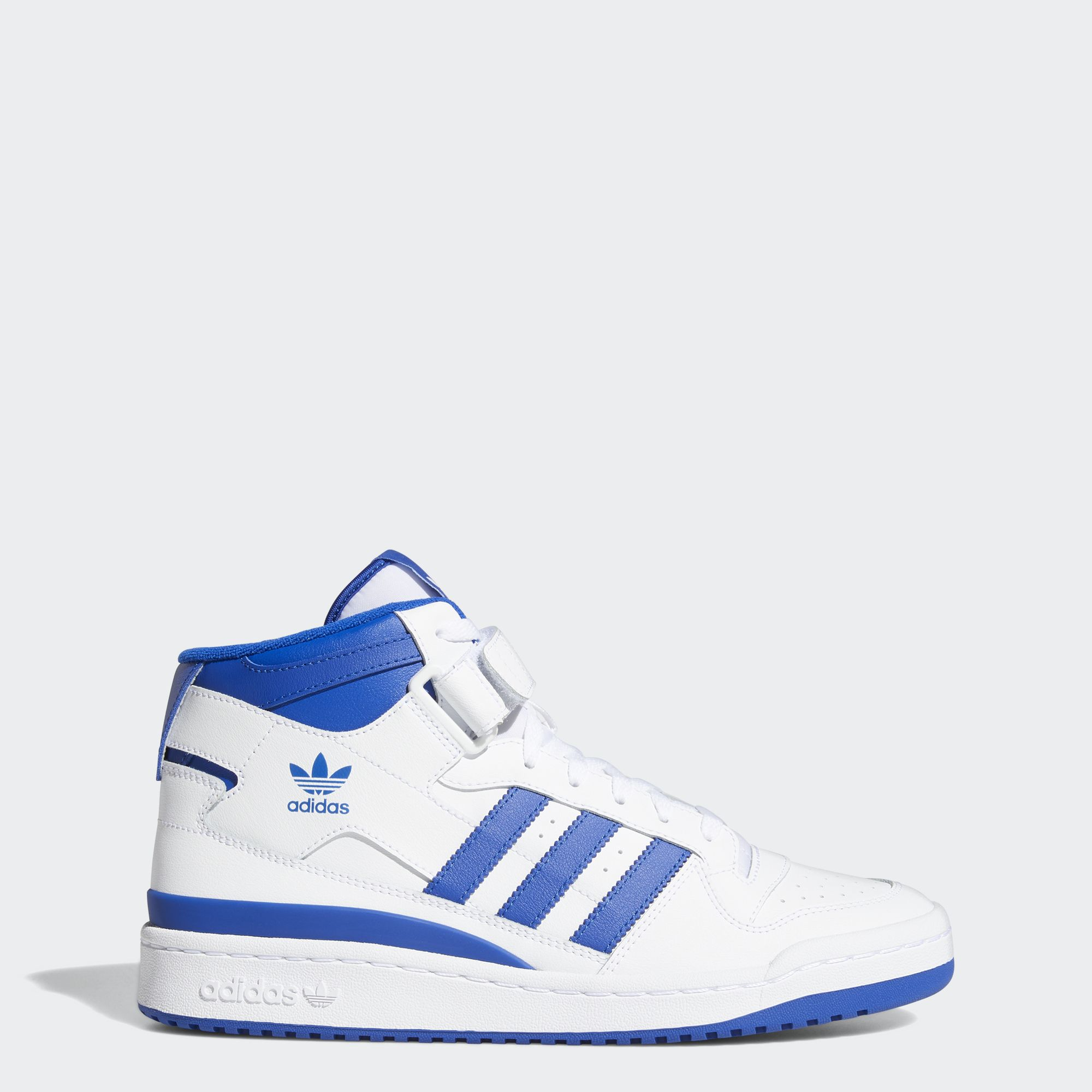 adidas ORIGINALS รองเท้า Forum Mid ผู้ชาย สีขาว FY4976