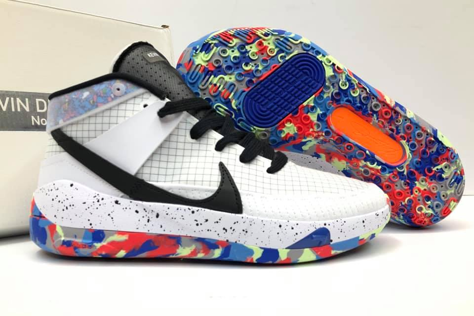 New Design Nike KD 13 White/Multicolor