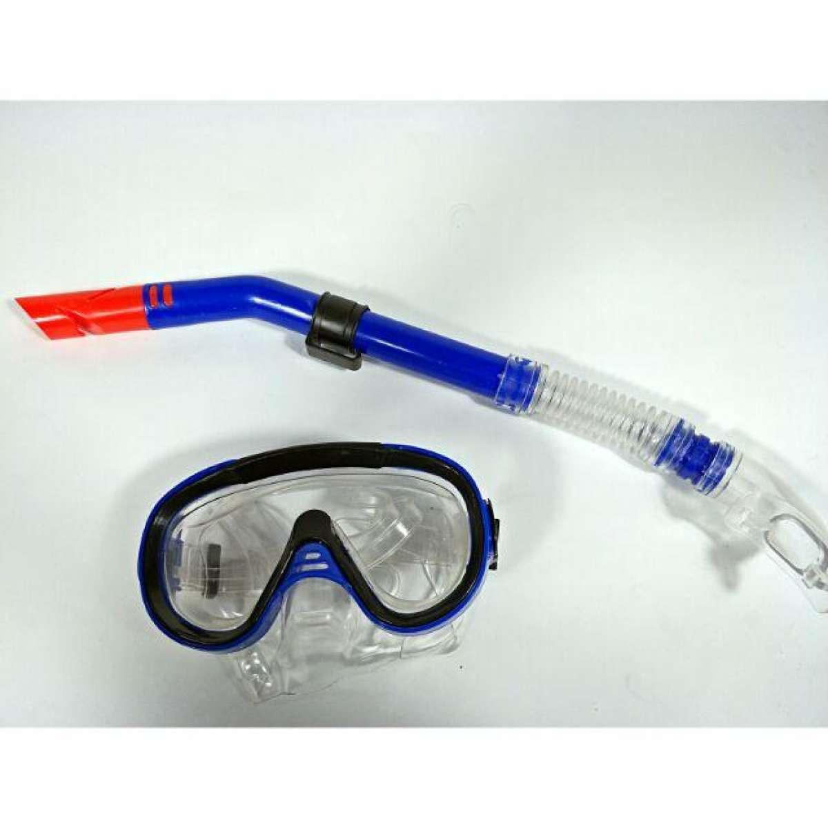 Dive Diving Mask Goggles Dry Snorkel Combo Set Swimming Scuba Snorkeling  Gear - Intl#01