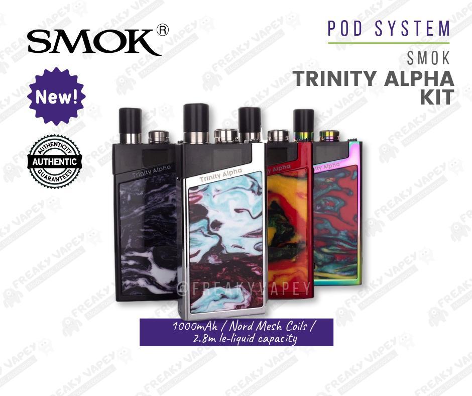 Smok Trinity Alpha Kit Pod System 1000mAh Vape Kit - Your Smok Nord Buddy
