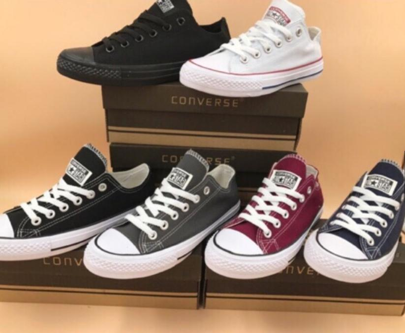 newest collection b1455 66df8 Converse low cut for women and mens (Suggest add 1 size)