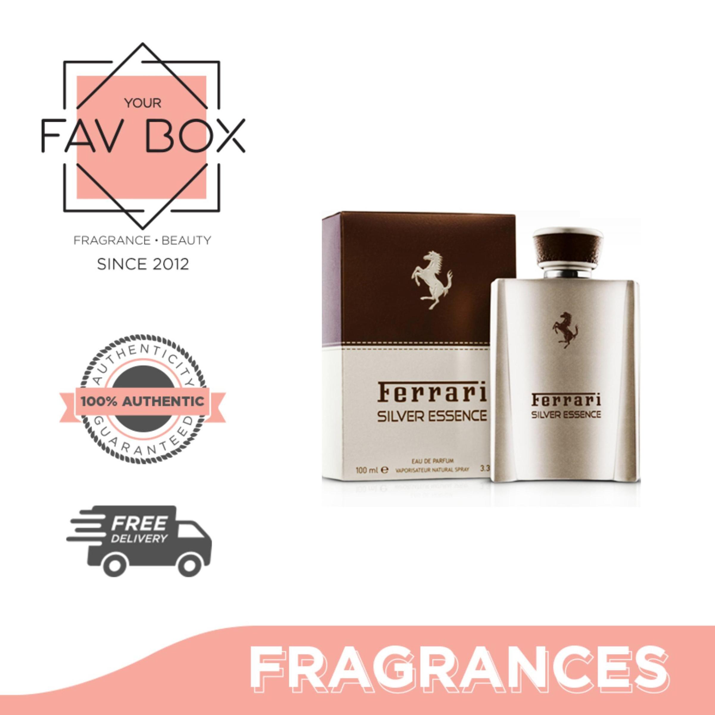 Your Fav Box Ferrari Silver Essence Eau De Toilette For Men 100ml Lazada Ph
