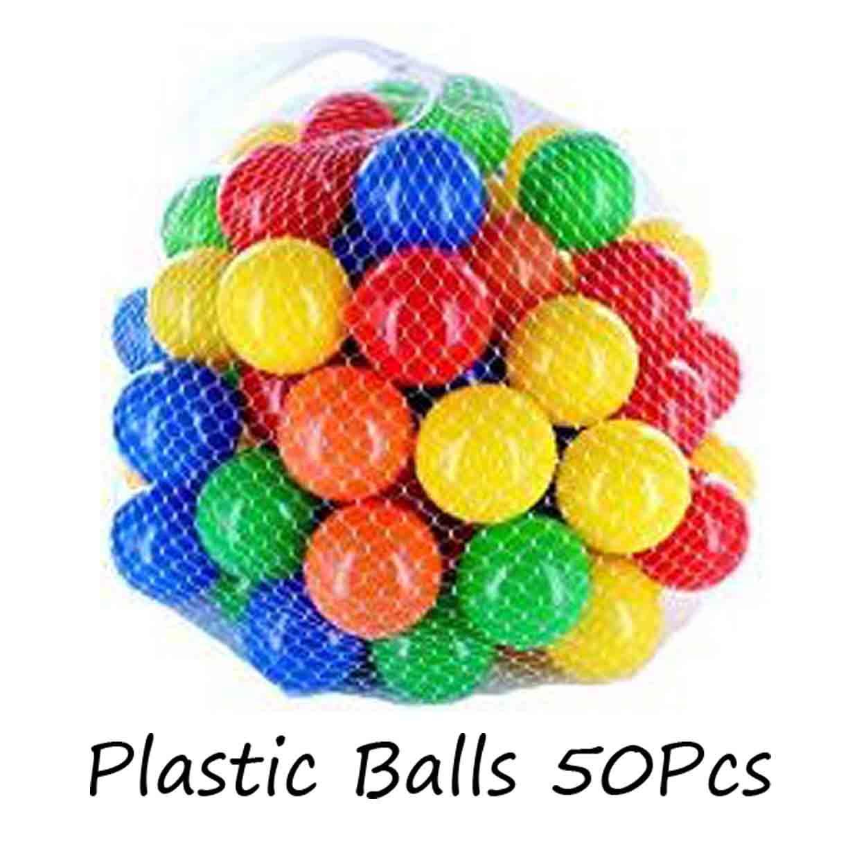 Children 50pcs Swim Colorful Soft Plastic Ocean Ball (color Random) By Xzycollection.