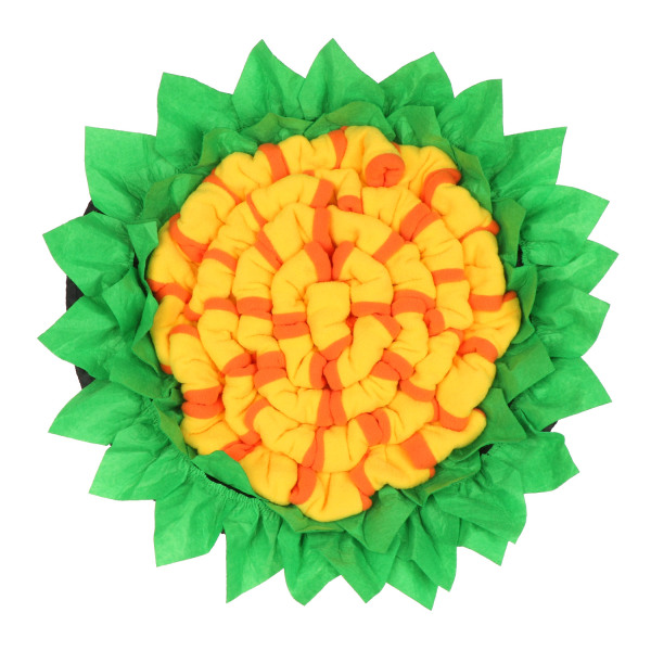 PROPAGATION SHRILL28PR2 Interactive Puzzle Dog Nosework Foraging Slow Food Mat Puzzle Toys For Pet Dog Enrichment Toys Foraging Dog Snuffle Mat