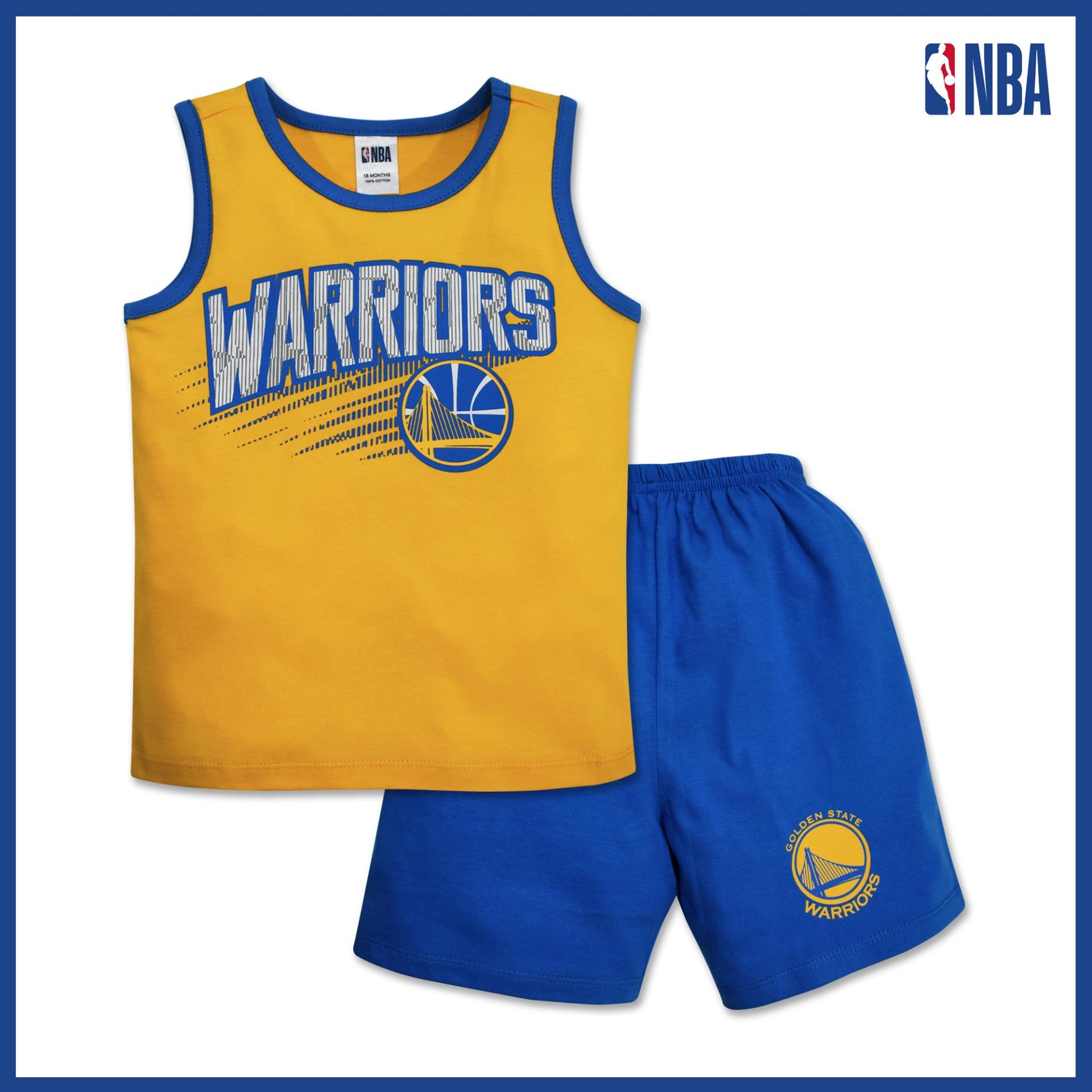 a252a19610c Product details of NBA Baby - Sando and Shorts Set (Jersey WM Secondary -  Warriors)