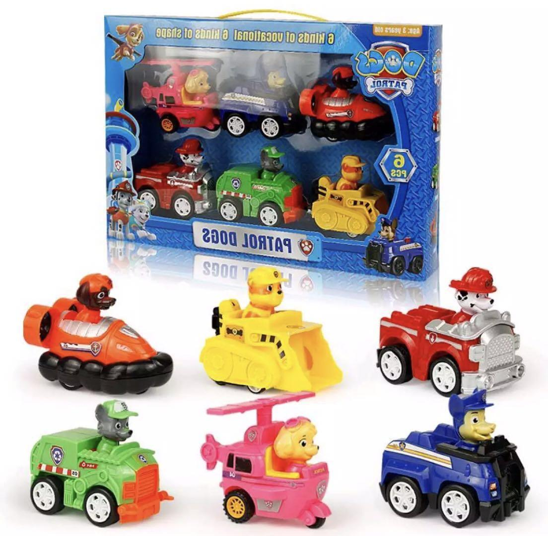 Xaviersshop paw patrol toys 6 in 1 set toys image
