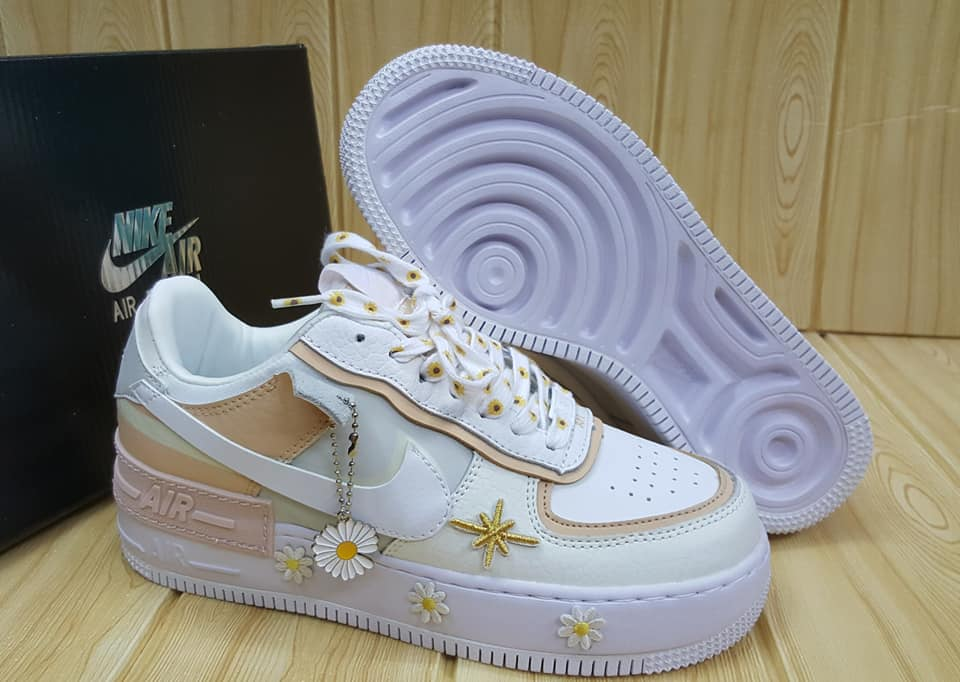 Nike Air Force 1 Low Floral White