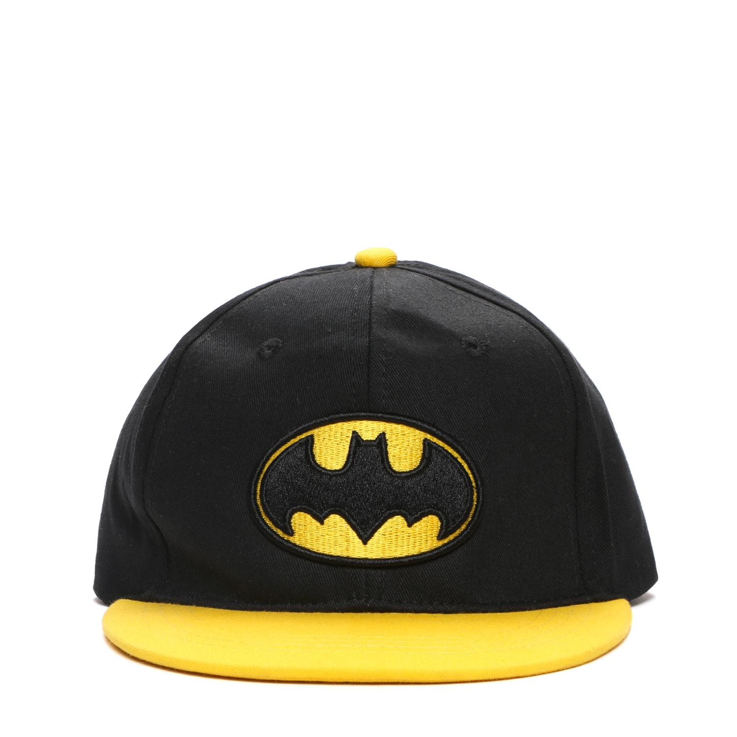 6278afe8c8e DC Comics Batman Boys Snapback Baseball Cap (Black)