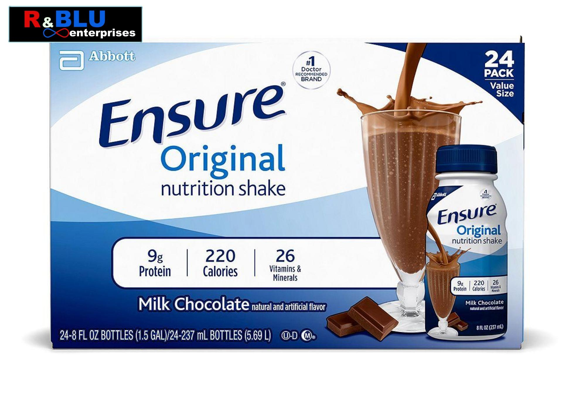 Ensure Philippines: Ensure price list - Powdered Chocolate