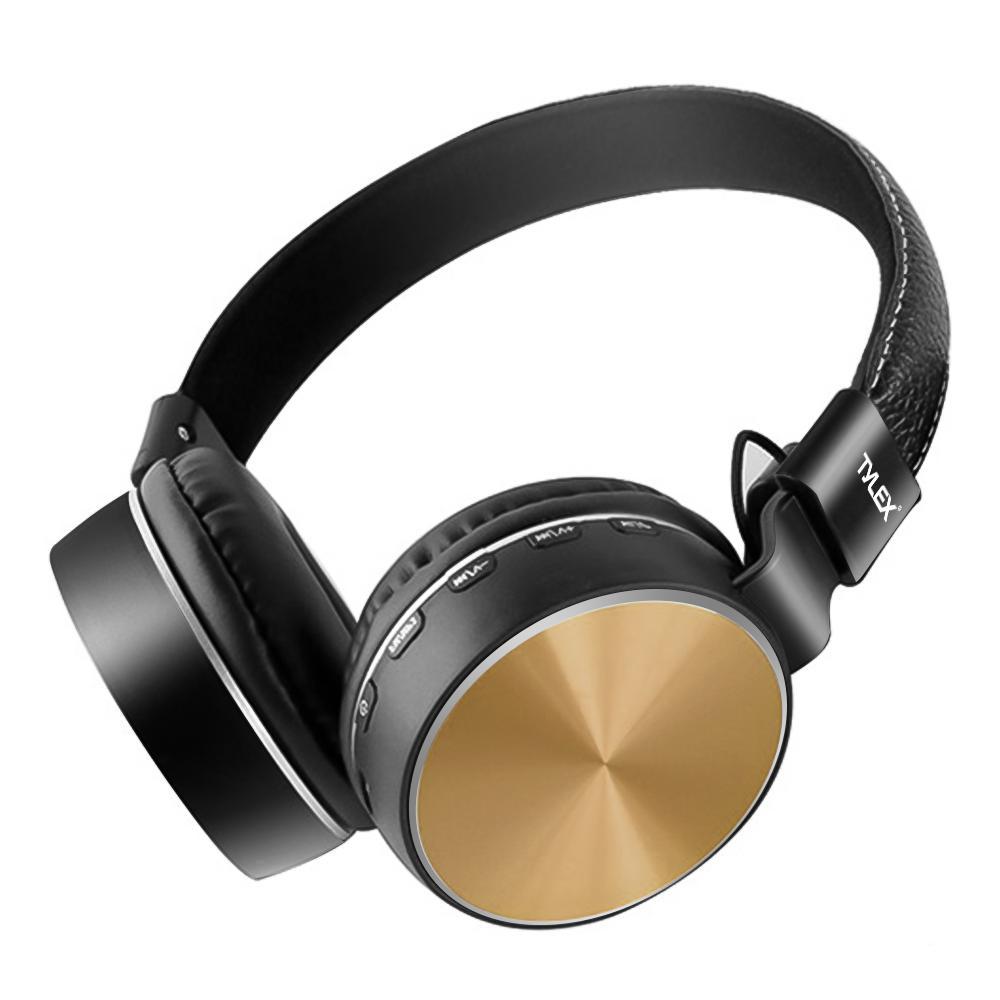 TYLEX MS-K1 Wireless Stereo Extra Bass Portable Bluetooth On-Ear Headphones w/