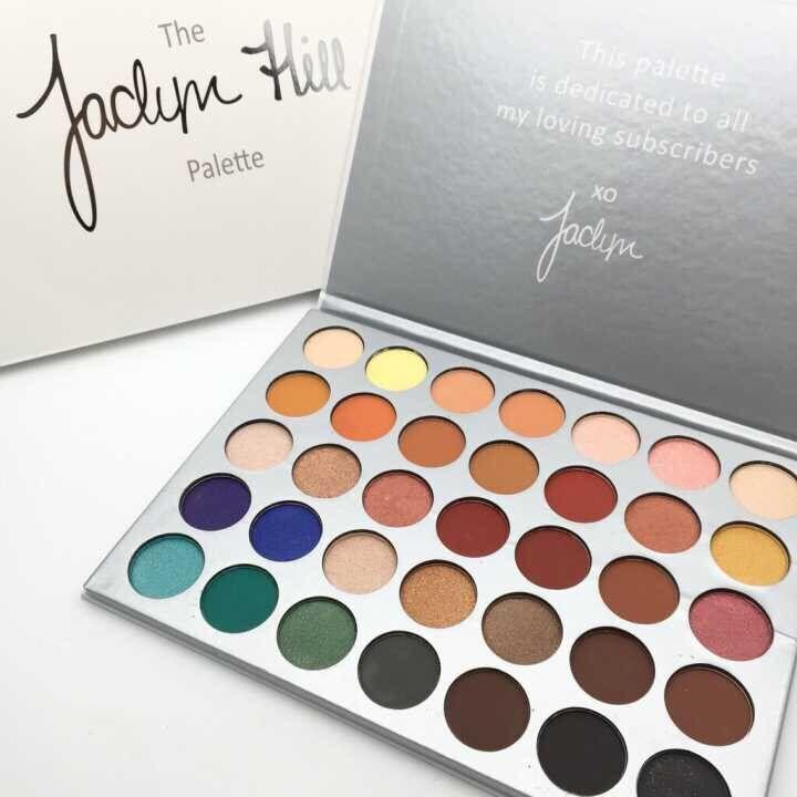 35Color Morphe jaclynn hill eyeshadow palette-Edison Online Shop Philippines