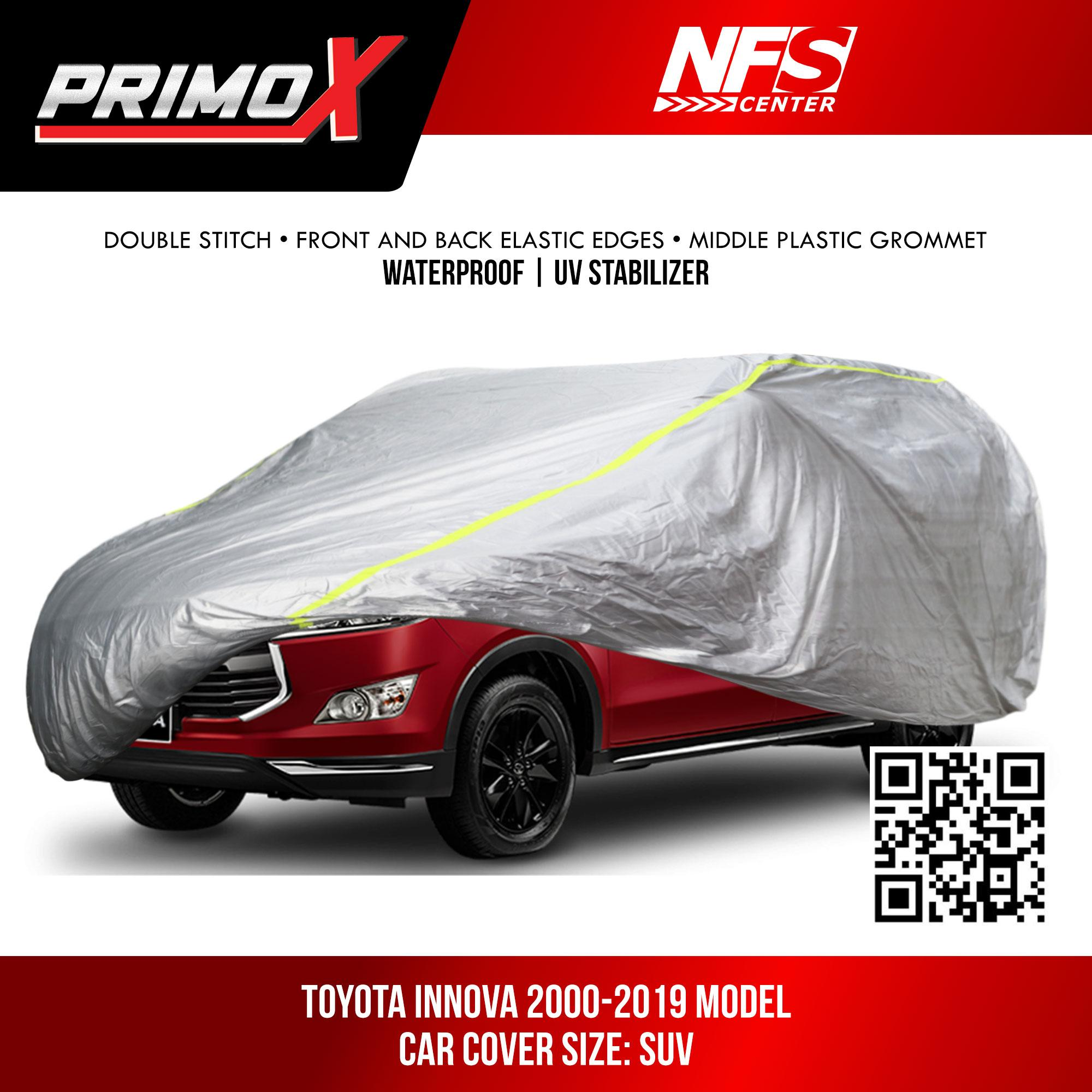 NFSC - Waterproof Aluminum Car Cover for Toyota Innova