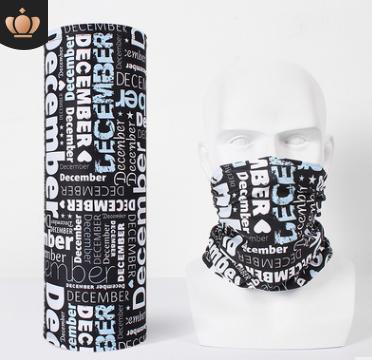 Headwear Headband Black Cactus Pattern Head Scarf Wrap Sweatband Sport Headscarves Men Women