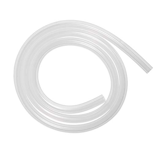 Silicone Tubing 7mm ID X 10mm OD 3.28ft 1m Flexible Silicon Rubber Tube Clear
