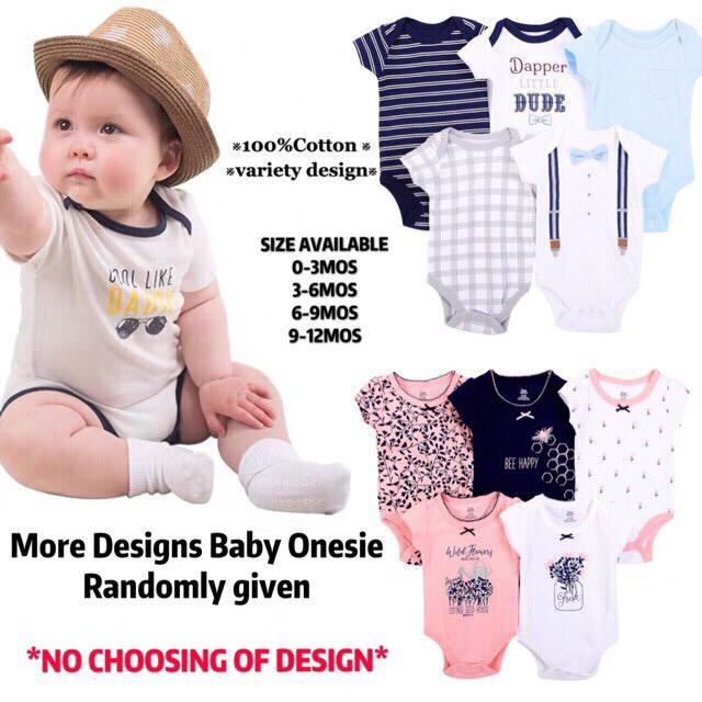 2a7dbd12357 CiCi Buy 1 Take 1!! CARTER Or BRANDED Baby Romper Clothes ASSORTED Designs  Onesie