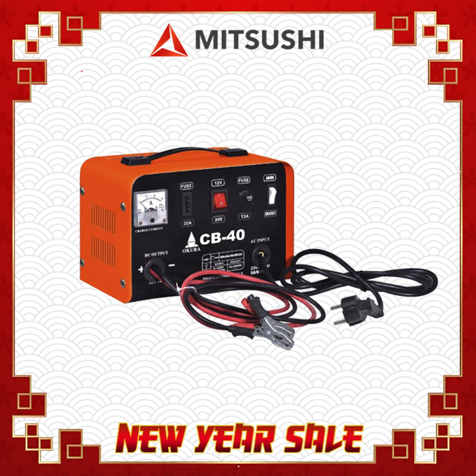 Car Battery Charger For Sale Jump Starter Online Brands Prices 15a Shortcircuit Protection Also Used Motor Mitsushi Cb 40 Fast Charging Output Voltage 12 24v Rated Current 18 25a